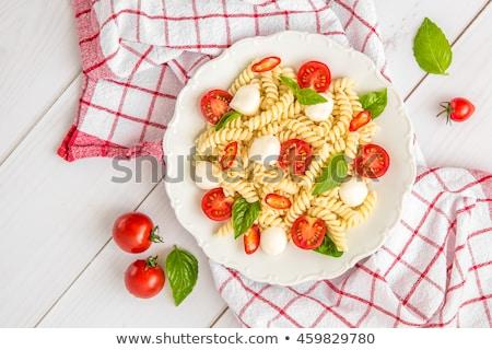 kleurrijk · ruw · pasta · peterselie · blad - stockfoto © stevanovicigor