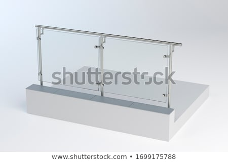 Acél üveg részlet modern építészet belső fal Stock fotó © Stocksnapper