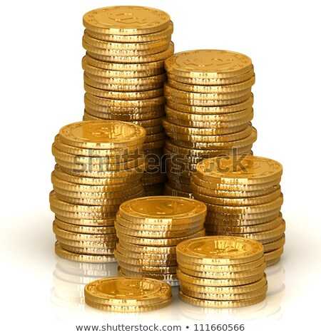 earn money in golden cubes Stock photo © marinini