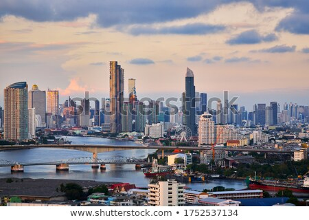 bangkok at evening stock photo © joyr