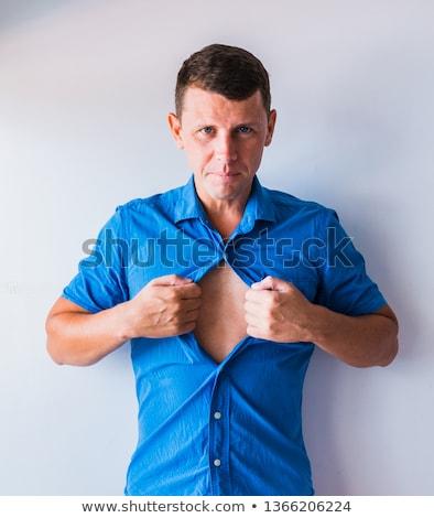 üzletember el póló üzlet kezek üzletember Stock fotó © oly5