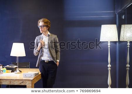 таблице Постоянный стены бизнеса заседание образование Сток-фото © oly5