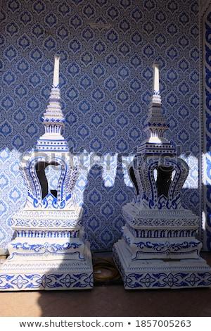 thai · chamar · templo · projeto · assinar · rezar - foto stock © thanarat27