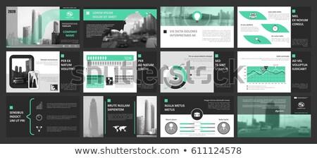 Estratégia de marketing título verde livro preto prateleira de livros Foto stock © tashatuvango