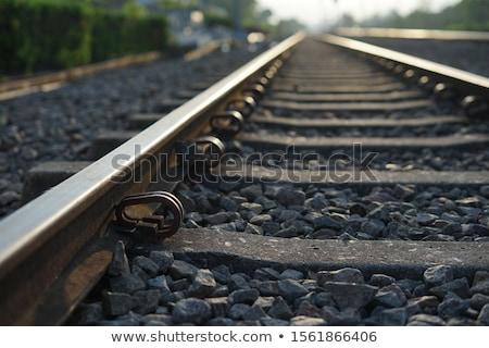 изменений · старые · железнодорожная · станция · вертикальный · движения - Сток-фото © zeffss