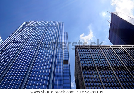 Close up high level blue sky  Stock photo © hin255
