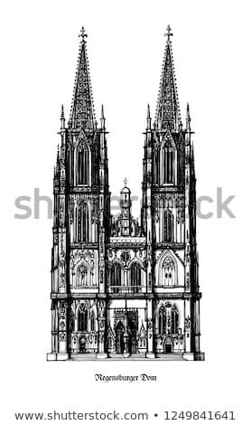 Church in Regensburg Stock photo © manfredxy