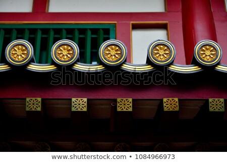 Budist tapınak güzel yaz kale Stok fotoğraf © ssuaphoto