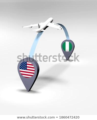 Zdjęcia stock: USA · Nigeria · Stany · Zjednoczone · Ameryki · kraju