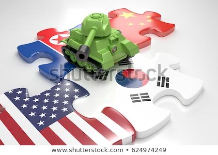 Stok fotoğraf: ABD · kuzey · bayraklar · bilmece · vektör · görüntü