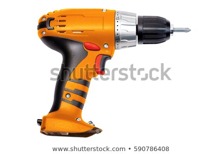 electric screwdriver isolated Stock photo © shutswis