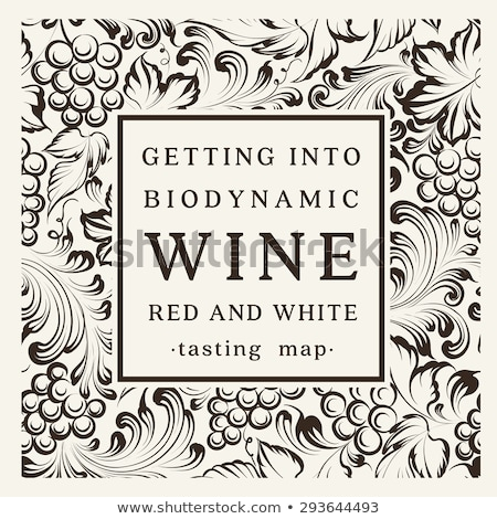 French wine label Stock photo © mathbapti