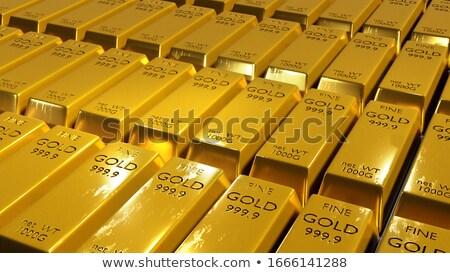 gold bar close-up  Stock photo © OleksandrO
