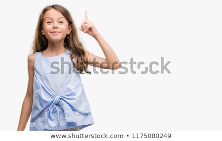 Exited little girl stock photo © sapegina