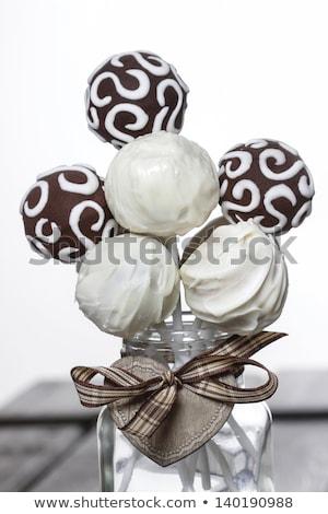festive toffee candy,cake pop Stock photo © M-studio