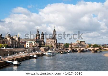 The Kreuzkirche church. Dresden, Germany Stock photo © joyr