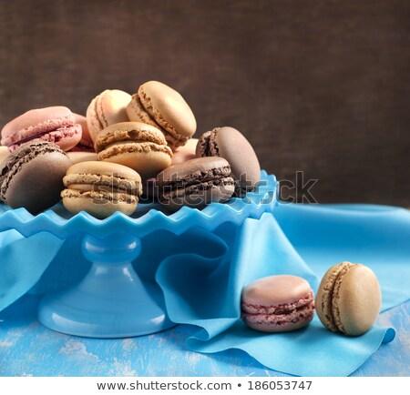 フランス語 コーヒー チョコレート バニラ ラズベリー ストックフォト © Yatsenko