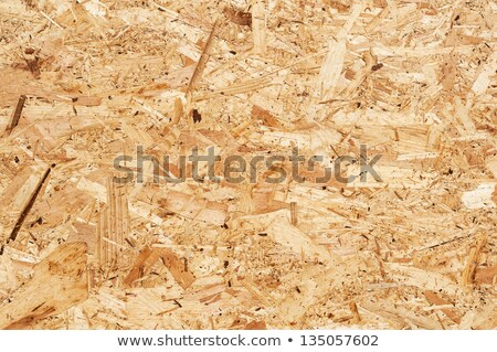 Wooden recycled oriented strand board detail. Stock photo © latent