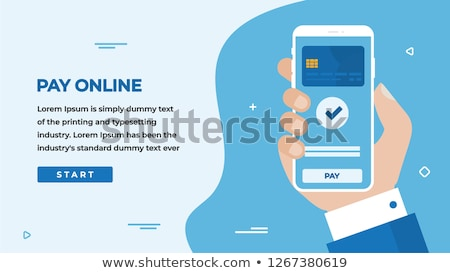 Online Payment Button. Stock photo © tashatuvango
