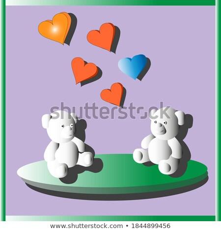 素描 · 泰迪熊 · 向量 · 復古 · 手 - 商業照片 © popaukropa