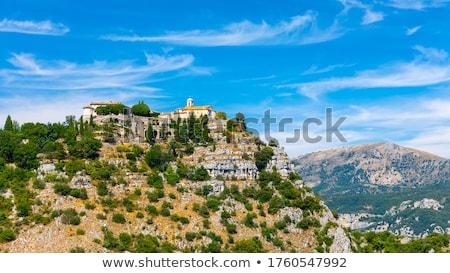 tourist in a mountain village in summer stock photo © kotenko