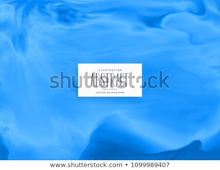 blue watercolor ink flue background Stock photo © SArts