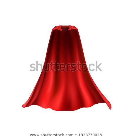 Cartoon superhero with red cape Stock photo © jossdiim