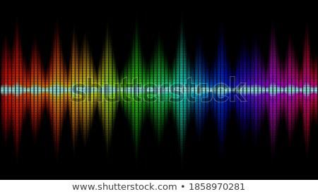 vetor · soar · ondas · conjunto · branco · música - foto stock © marysan