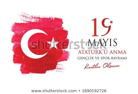 19 mayis Ataturk'u Anma Genclik ve Spor Bayrami Stock photo © sgursozlu