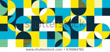 синий 3D треугольник вектора иллюстрация изолированный Сток-фото © cidepix