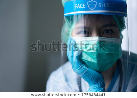 men with doctor having a head problem Foto stock © Lopolo