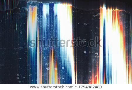 digital blue glitch art effect background Stock photo © SArts