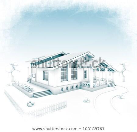 Görüntü mühendis mimari proje mühendisler eller Stok fotoğraf © Freedomz