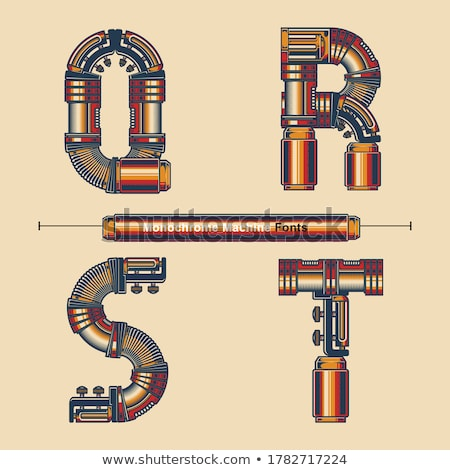 Absztrakt logo t betű viselet sablon logoterv Stock fotó © kyryloff