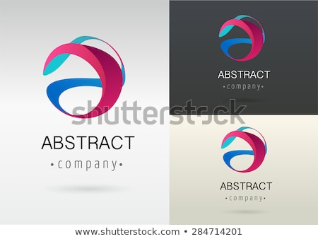 colorful 3d abstract icons stock photo © cidepix