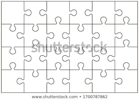 Compleet puzzel onderwijs spel Stockfoto © Olena