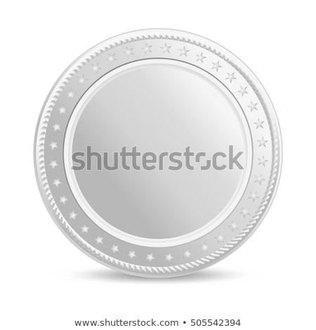 Silver coin Stock photo © montego