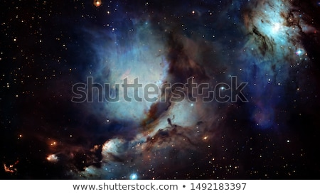 Sparkle shinny blue star particle motion on black background. Stock photo © NASA_images
