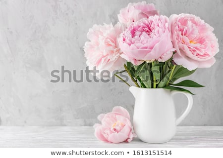 Bouquet of flowers in vase Stock photo © Anneleven