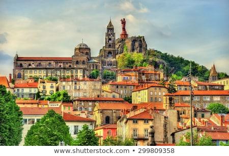 Statue of Notre-Dame de France, Le Puy-en-Velay, France Stock photo © borisb17