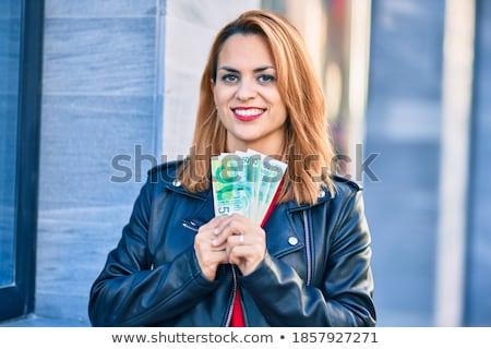 израильский женщину довольно молодые бледный розовато-лиловый Сток-фото © disorderly
