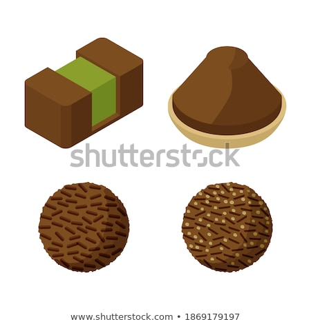 Snoep amandel marsepein chocolade Stockfoto © aladin66