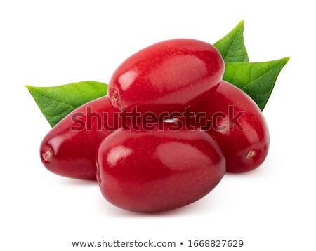 куча красный группа белый макроса ягодные Сток-фото © Masha