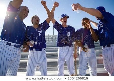 smiling in a baseball  Stock photo © mayboro