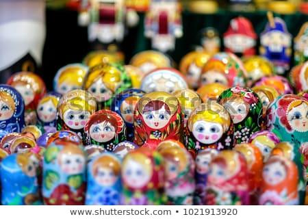Matryoshka doll, Russian handicraft Stock photo © fisfra