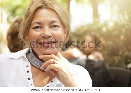 портрет · молодым · человеком · старший · женщину · компьютер - Сток-фото © photography33
