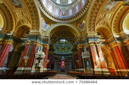 Detail of St Stephen basilica Stock photo © jakatics