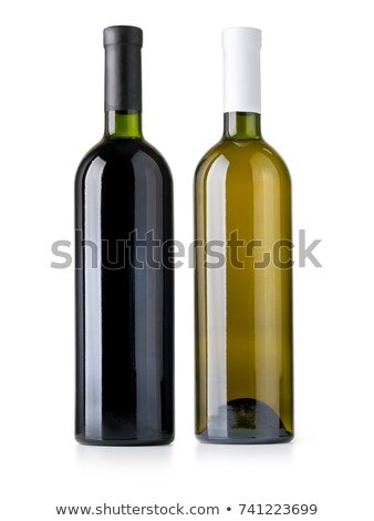 The bottle of vine stock photo © Alenmax