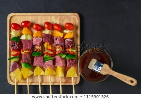 kívül · konyhapult · felső · frissen · vár · egészség - stock fotó © ozgur