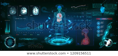 Transparente digital corpo gráfico humanismo Foto stock © wavebreak_media